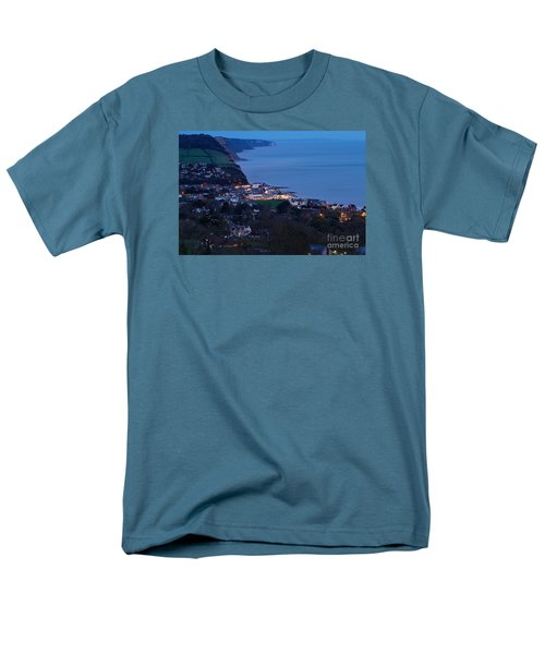 Men's T-Shirt  (Regular Fit) featuring the photograph Simouth From A High. by Gary Bridger