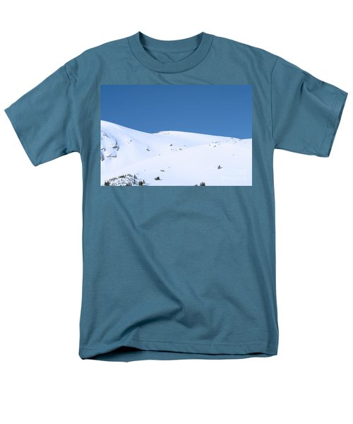 Men's T-Shirt  (Regular Fit) featuring the photograph Simply Winter by Juli Scalzi