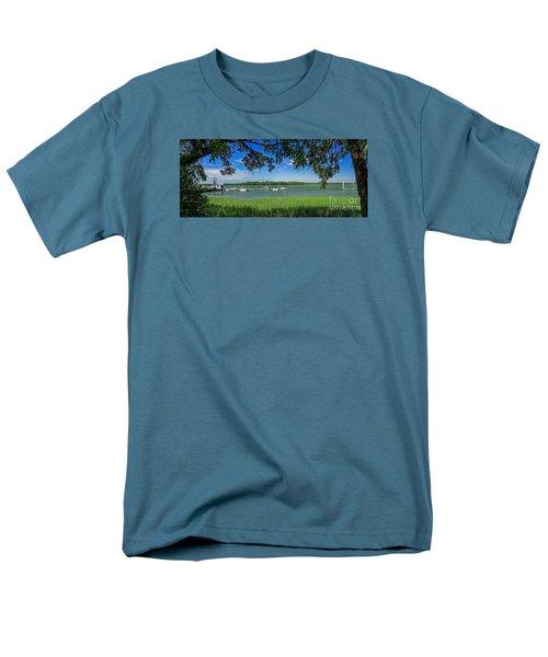 Skull Creek Area Men's T-Shirt  (Regular Fit) by Paul Mashburn