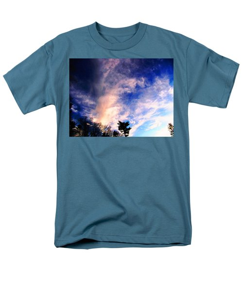 Men's T-Shirt  (Regular Fit) featuring the photograph Sky Study 5 3/11/16 by Melissa Stoudt