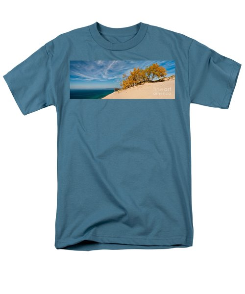 Sleeping Bear Overlook Men's T-Shirt  (Regular Fit) by Larry Carr
