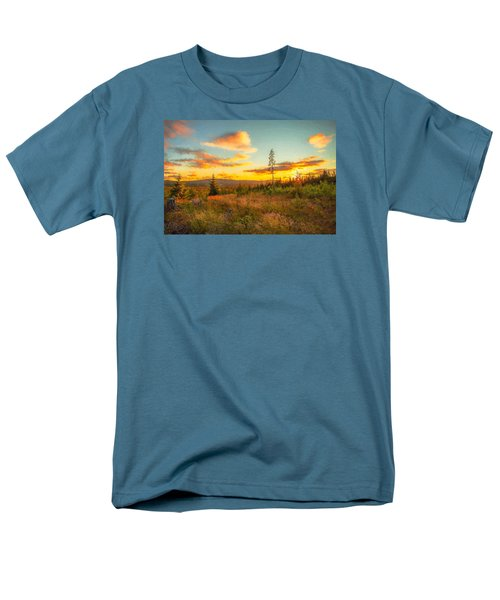 Men's T-Shirt  (Regular Fit) featuring the photograph Smell Of Nature by Rose-Maries Pictures