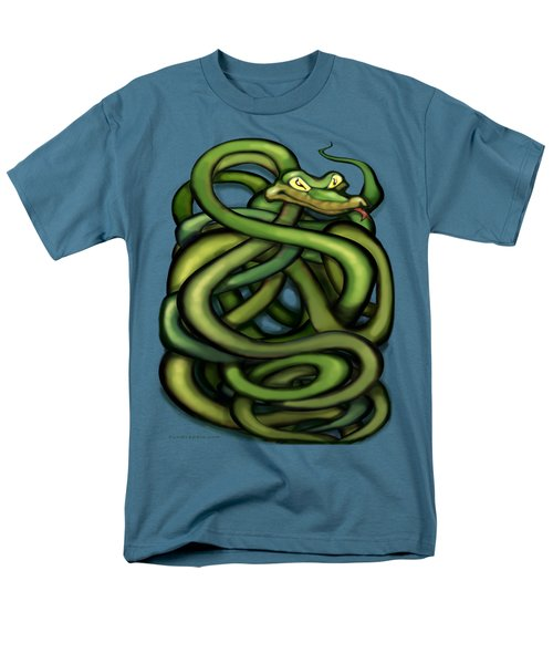 Snakes Men's T-Shirt  (Regular Fit) by Kevin Middleton