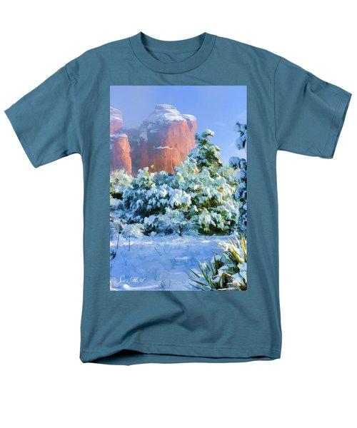 Snow 07-093 Men's T-Shirt  (Regular Fit) by Scott McAllister