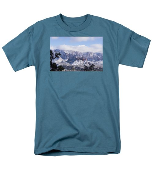 Snow Blanket Men's T-Shirt  (Regular Fit) by Laura Pratt