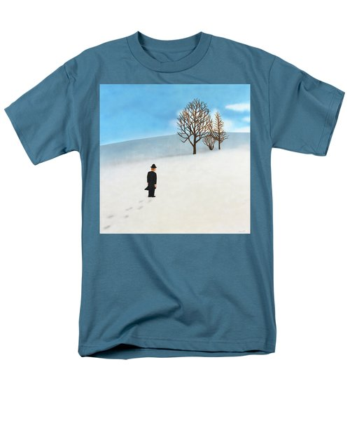 Snow Day Men's T-Shirt  (Regular Fit) by Thomas Blood