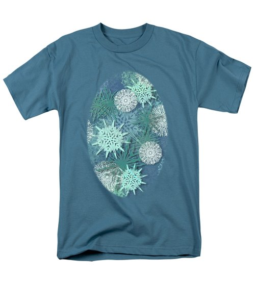 Snowflakes Men's T-Shirt  (Regular Fit) by AugenWerk Susann Serfezi