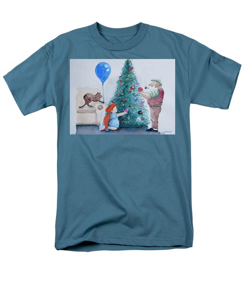Men's T-Shirt  (Regular Fit) featuring the painting So Pretty Grandpa by Geni Gorani