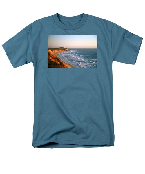 Men's T-Shirt  (Regular Fit) featuring the photograph Socal Sunset Ocean Front by Clayton Bruster