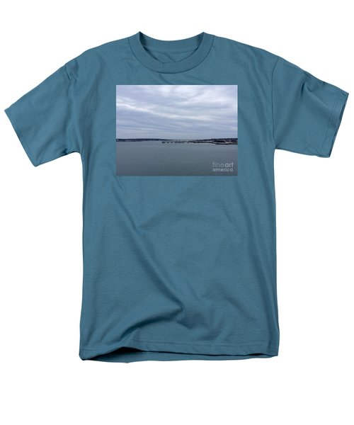 Soft Start, Winter Sunrise Men's T-Shirt  (Regular Fit) by Patricia E Sundik