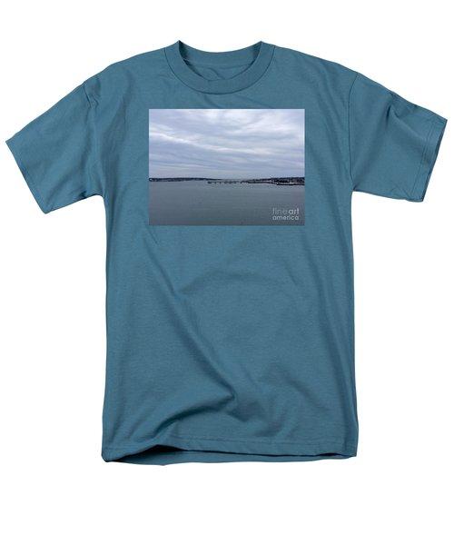 Soft Start, Winter Sunrise Men's T-Shirt  (Regular Fit)