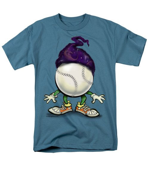 Softball Wizard Men's T-Shirt  (Regular Fit) by Kevin Middleton