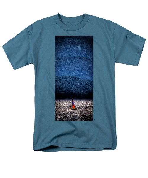 Men's T-Shirt  (Regular Fit) featuring the photograph Solitude On Priest Lake by David Patterson