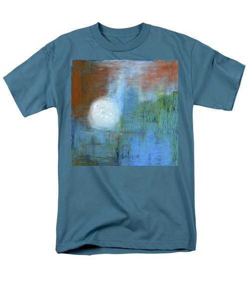 Men's T-Shirt  (Regular Fit) featuring the painting Sparkling Sun-rays by Michal Mitak Mahgerefteh