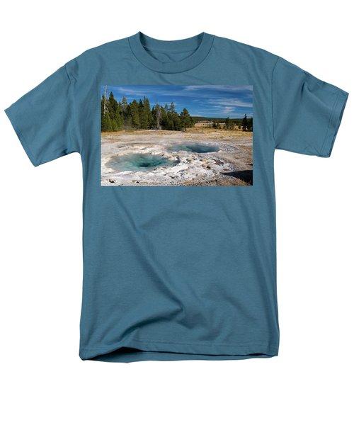 Spasmodic Geyser Men's T-Shirt  (Regular Fit) by Steve Stuller