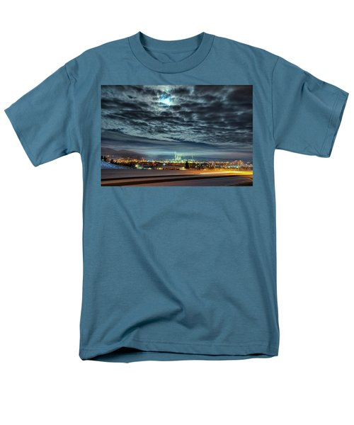 Spearfish Under The Moon Men's T-Shirt  (Regular Fit) by Fiskr Larsen