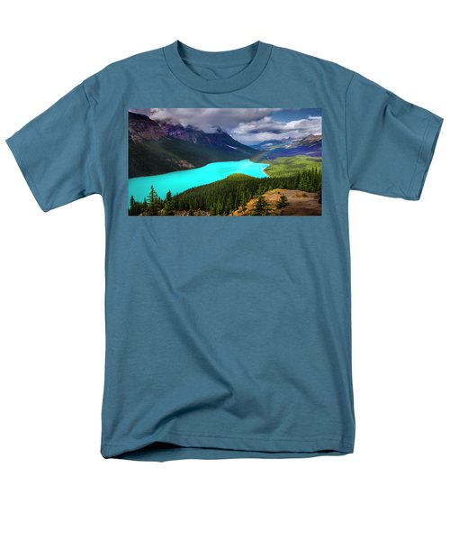 Men's T-Shirt  (Regular Fit) featuring the photograph  Spirit Of The Wolf by John Poon