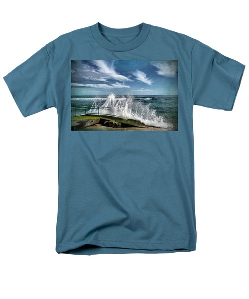 Splash Happy Men's T-Shirt  (Regular Fit)