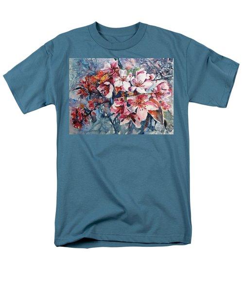 Men's T-Shirt  (Regular Fit) featuring the painting Spring Beauty by Kovacs Anna Brigitta
