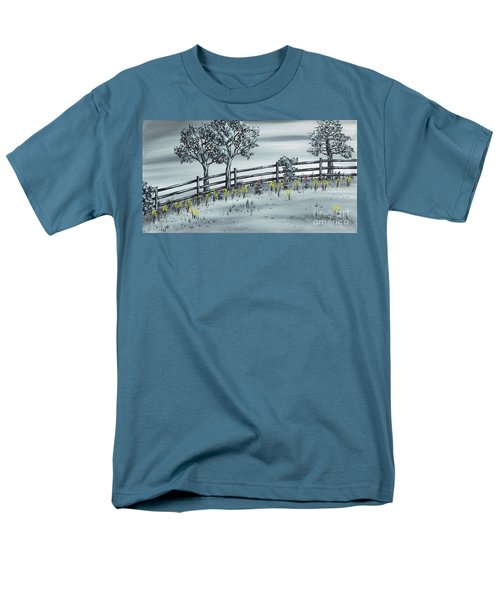 Men's T-Shirt  (Regular Fit) featuring the painting Spring Time by Kenneth Clarke