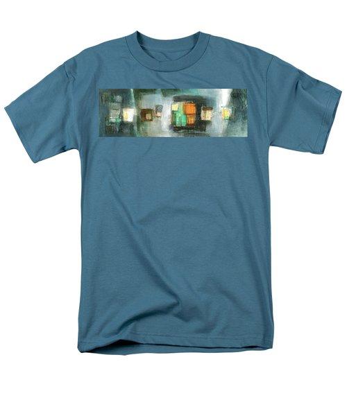 Square91.5 Men's T-Shirt  (Regular Fit) by Behzad Sohrabi