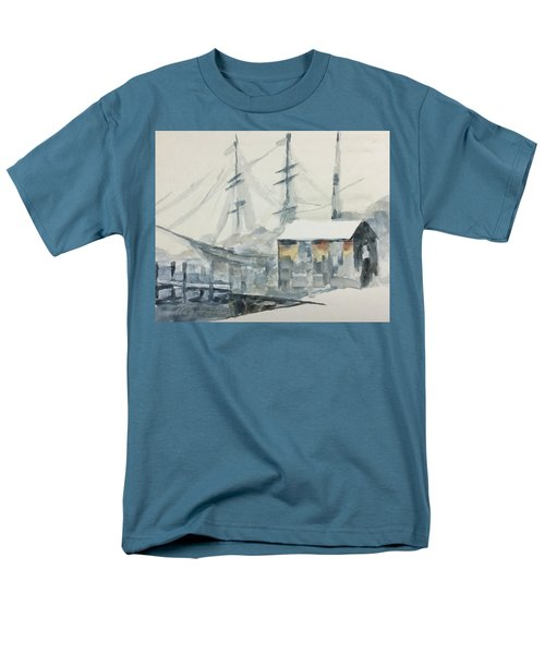 Square Rigger Men's T-Shirt  (Regular Fit) by Stan Tenney