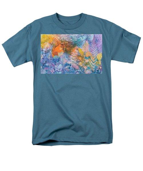 Squirrel Hollow Men's T-Shirt  (Regular Fit) by Nancy Jolley