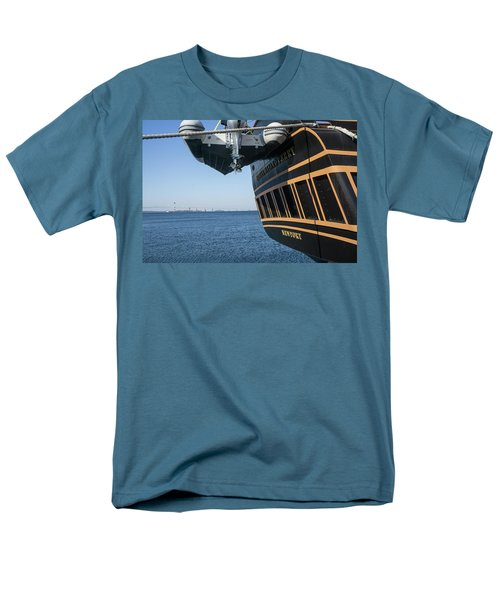 Ssv Oliver Hazard Perry Close Up Men's T-Shirt  (Regular Fit) by Nancy De Flon