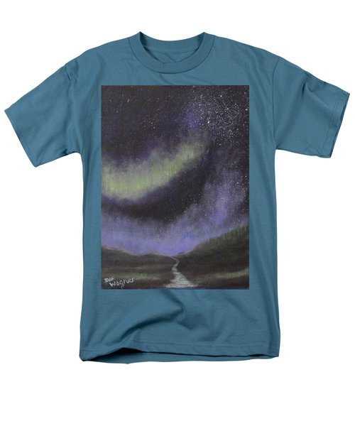 Men's T-Shirt  (Regular Fit) featuring the painting Star Path by Dan Wagner