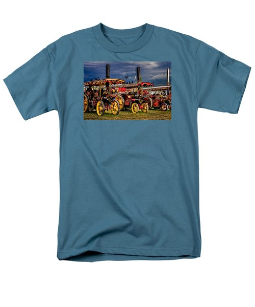 Men's T-Shirt  (Regular Fit) featuring the photograph Steam Power by Chris Lord