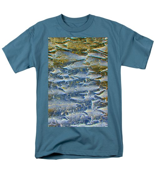 Men's T-Shirt  (Regular Fit) featuring the photograph Stepping Stones by Lenore Senior