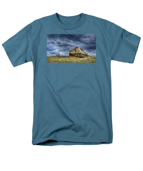 Stormy Peak 2 Men's T-Shirt  (Regular Fit) by Mary Angelini