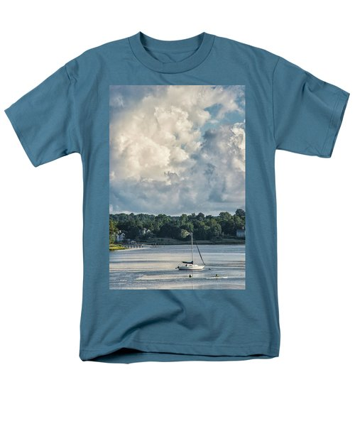 Stormy Sunday Morning On The Navesink River Men's T-Shirt  (Regular Fit)