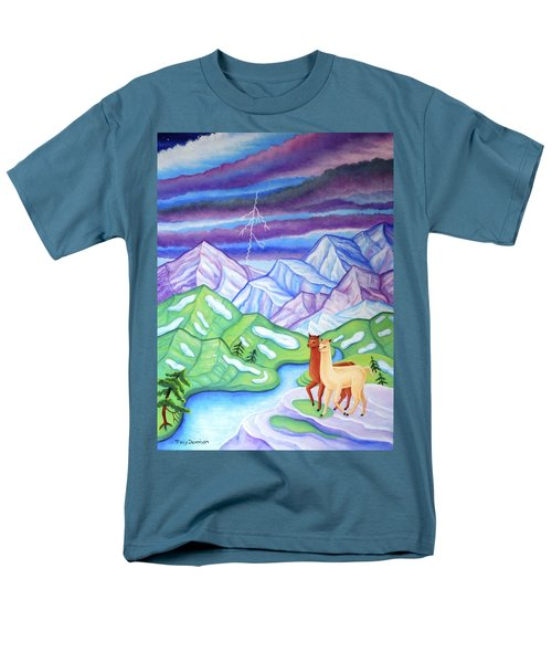Stormy Weather Men's T-Shirt  (Regular Fit) by Tracy Dennison