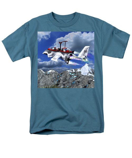 Stowing The Lift Men's T-Shirt  (Regular Fit) by Dave Luebbert