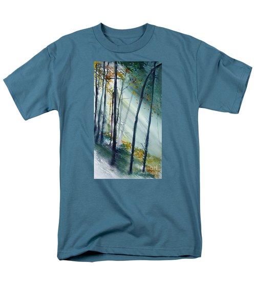 Study The Trees Men's T-Shirt  (Regular Fit)