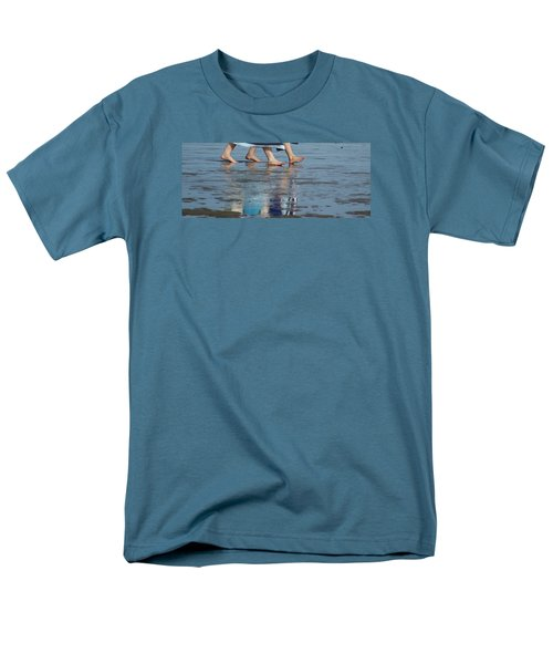 Men's T-Shirt  (Regular Fit) featuring the photograph Summer Feet   #1 by Margie Avellino