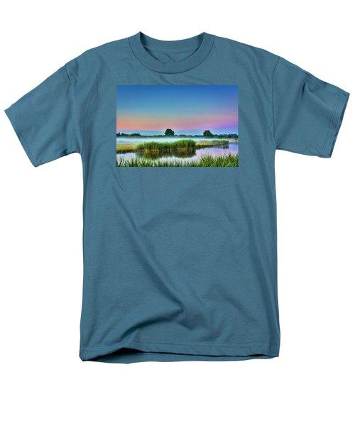Summer Sunrise Men's T-Shirt  (Regular Fit) by Nadia Sanowar