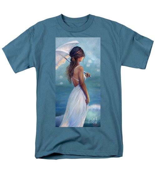 Men's T-Shirt  (Regular Fit) featuring the painting Sun Kissed by Michael Rock