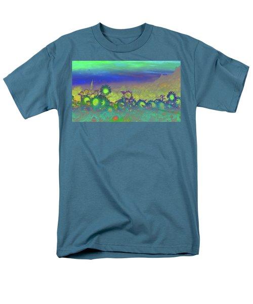 Men's T-Shirt  (Regular Fit) featuring the photograph Sunflower Serenade by Mike Breau