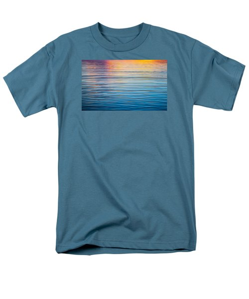 Sunrise Abstract On Calm Waters Men's T-Shirt  (Regular Fit) by Parker Cunningham