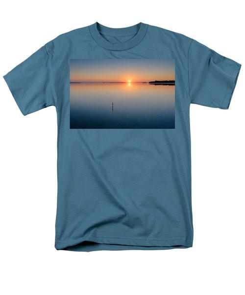 Sunrise Along The Pinellas Bayway Men's T-Shirt  (Regular Fit) by Craig Szymanski