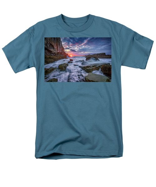 Sunrise At Bald Head Cliff Men's T-Shirt  (Regular Fit) by Rick Berk