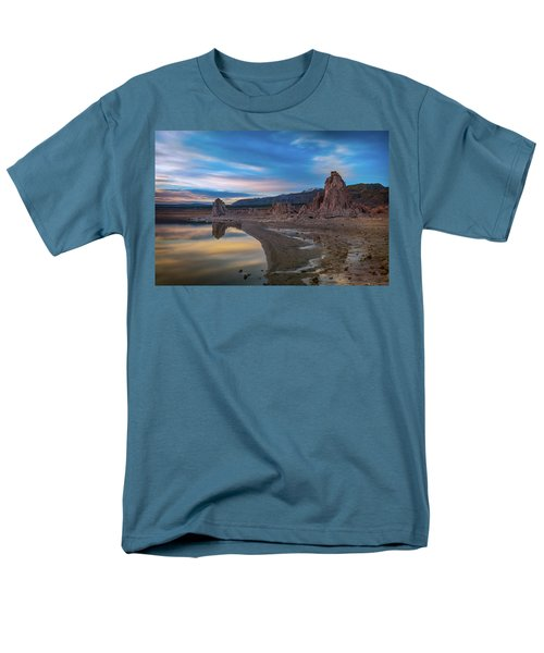 Sunrise At Mono Lake Men's T-Shirt  (Regular Fit) by Ralph Vazquez