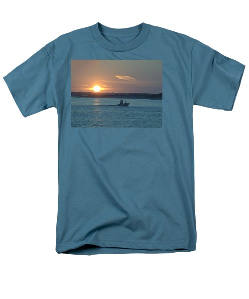 Men's T-Shirt  (Regular Fit) featuring the photograph Sunrise Bassing by  Newwwman