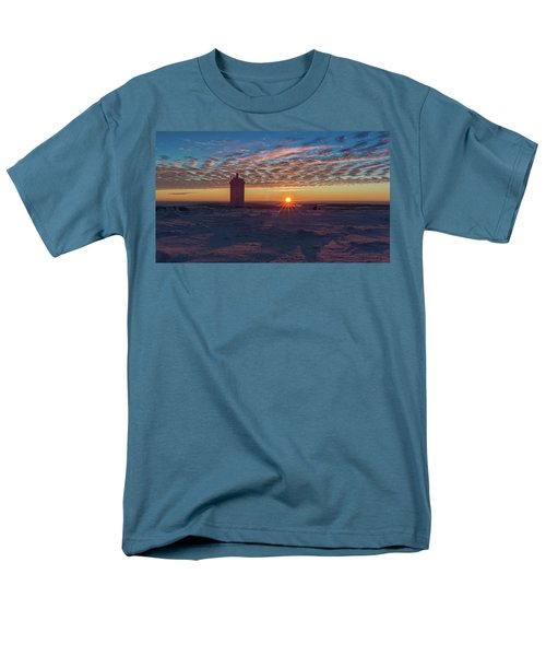 Sunrise On The Brocken, Harz Men's T-Shirt  (Regular Fit) by Andreas Levi