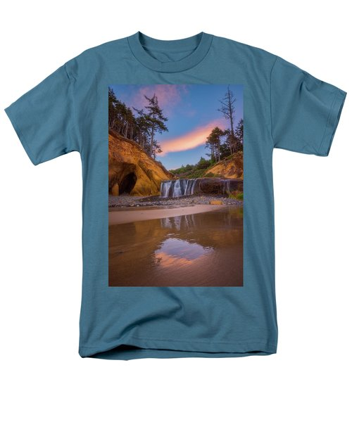 Men's T-Shirt  (Regular Fit) featuring the photograph Sunrise Over Hug Point by Darren White