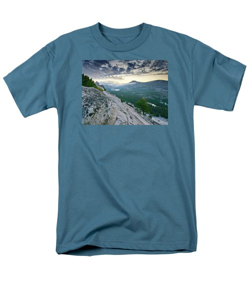Sunrise Over Tenaya Lake - Yosemite National Park Men's T-Shirt  (Regular Fit) by Brendan Reals