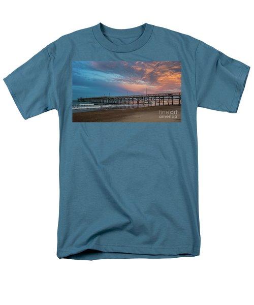 Sunset Over The Atlantic Men's T-Shirt  (Regular Fit) by Scott and Dixie Wiley