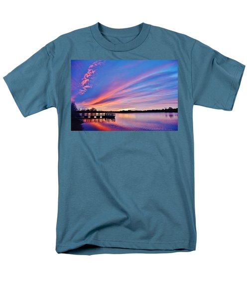 Sunrise Reflecting Men's T-Shirt  (Regular Fit) by Diane Alexander